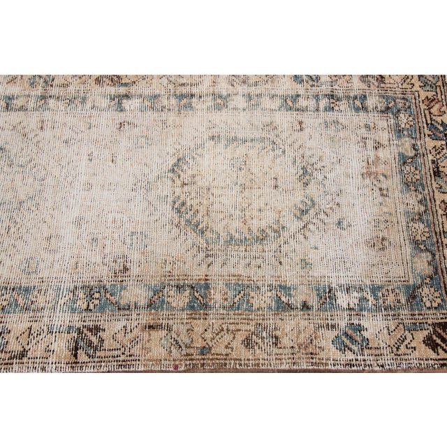 "Apadana-Antique Persian Distressed Rug, 3'1"" X 10'1"" For Sale In New York - Image 6 of 9"