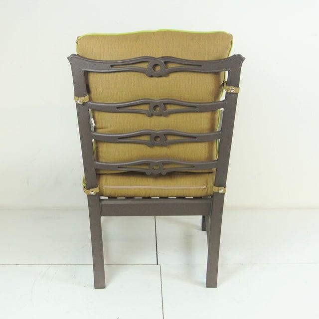 Arlington Club Chair W/ Custom Fit Sunbrella Cushion - Image 7 of 8