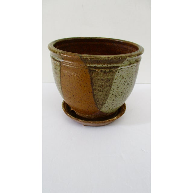 Robert Maxwell Style Glazed Planter For Sale - Image 9 of 9
