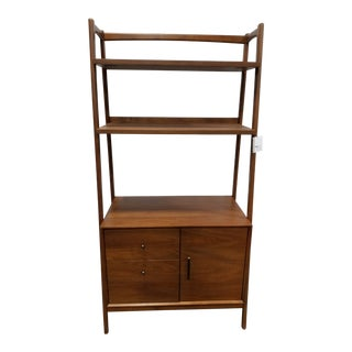 New Mid-Century Modern Inspired Bookcase For Sale