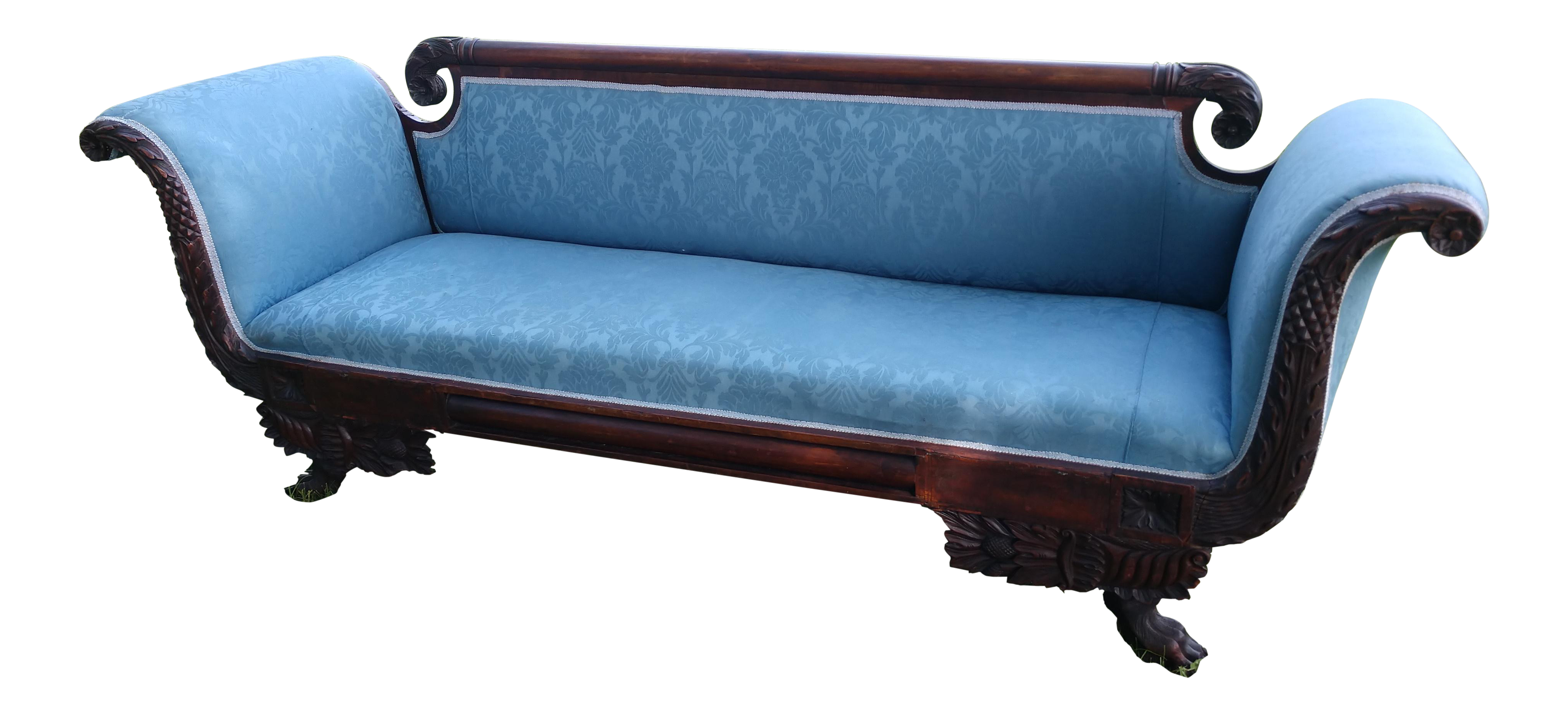 Vintage used victorian sofas chairish