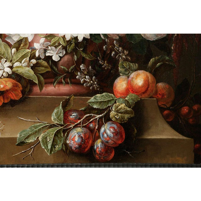 Late 18th Century 18th C. Dutch Still Life Oil Painting For Sale - Image 5 of 11