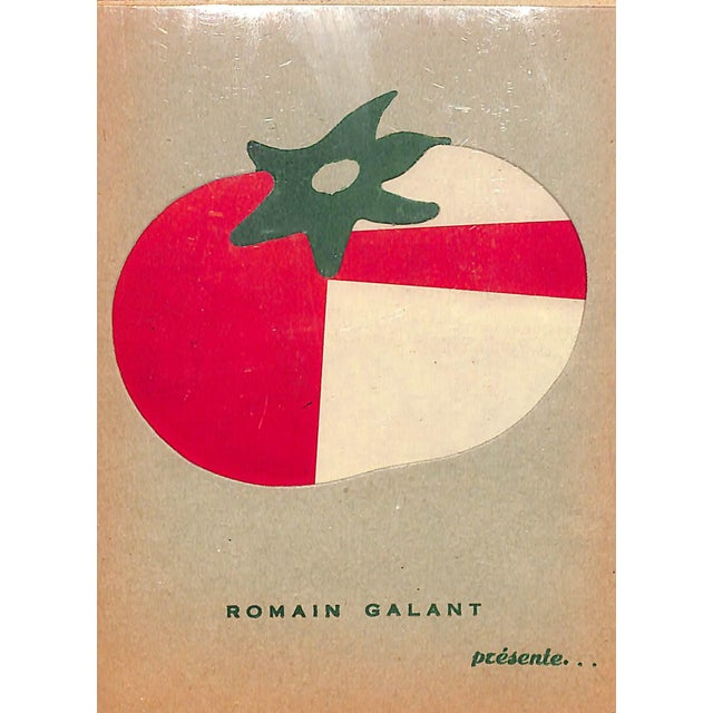 "La Tomate by ""Romain Galant"" For Sale - Image 5 of 5"