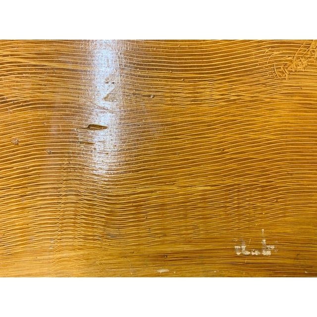 1920s Art Deco Pine Trunk For Sale - Image 9 of 13