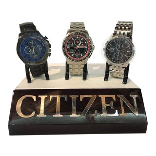 Collection of One Hundred Citizen Watches Brand New in Boxes For Sale