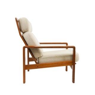 1970s Vintage S. Burchardt-Nielsen Teak Lounge Chair Preview