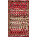 "Image of Vintage Persian Hamadan Rug – Size: 2' 2"" X 3' 8"" For Sale"