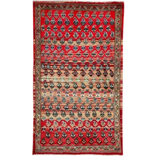 "Vintage Persian Hamadan Rug – Size: 2' 2"" X 3' 8"" For Sale"
