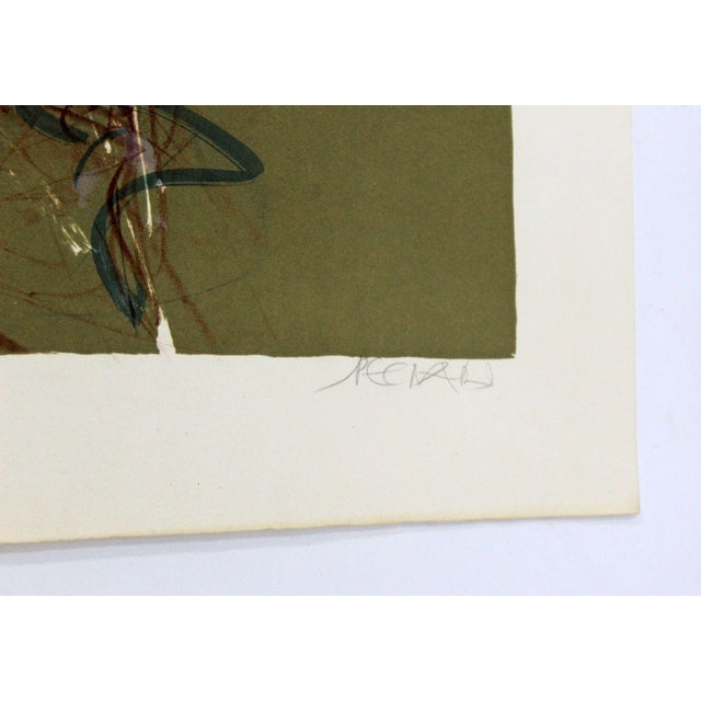 Mid 20th Century Jacques Pecnard Signed Artist Proof Print Portrait Girl Thinking For Sale - Image 5 of 6