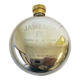 Late 20th Century Jameson Irish Whiskey Flask For Sale