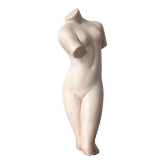 Female Nude Torso Sculpture Figure