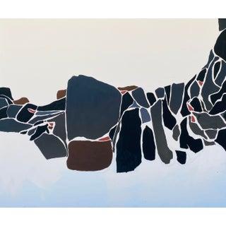 Jurassic, Painting by Elizabeth Saven