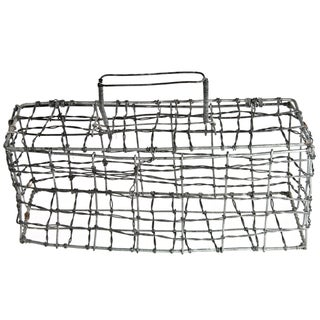 Vintage Wire Animal Carrier