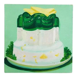 """Lime Jello"" Pop Art Painting"