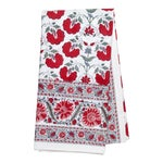 Janvi Tablecloth, 6-seat table - Red