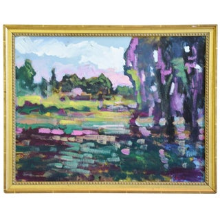 "Original Juan ""Pepe"" Guzman, Colorful California Landscape Painting For Sale"