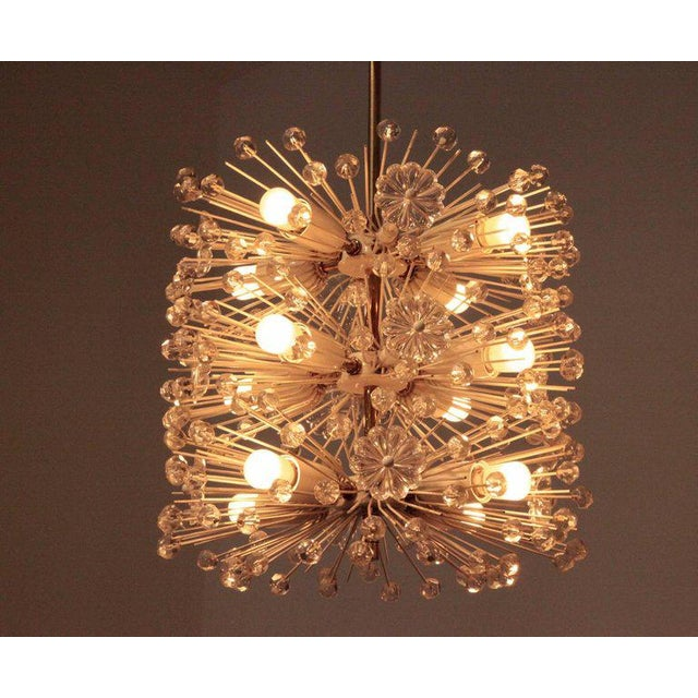 1950s Sputnik Chandelier Dandelion by Emil Stejnar, Vienna Austria, Circa 1955 For Sale - Image 5 of 6