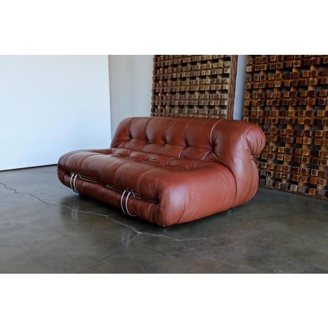 Soriana Settee by Afra & Tobia Scarpa for Cassina For Sale - Image 9 of 13