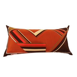 Vintage Missrose Scarf Pillow For Sale