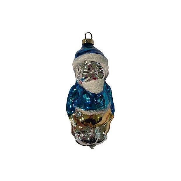 Santa & Gnomes Christmas Ornaments - S/3 - Image 3 of 4