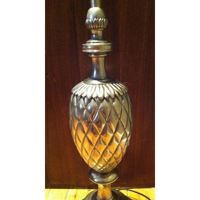 Stiffel Brass Pineapple Table Lamp - Image 7 of 9