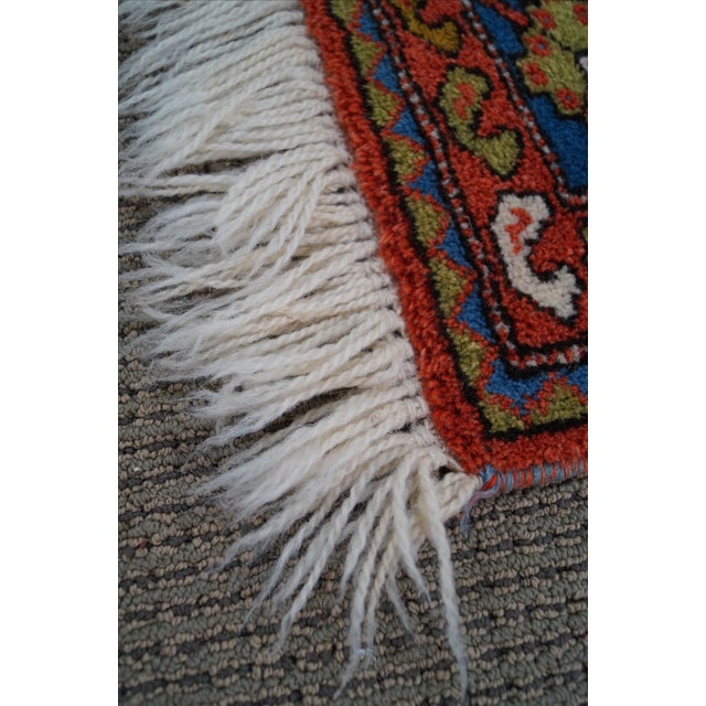 Quality Hand Tied Caucasian Rug - 3′7″ × 5′6″ For Sale In Philadelphia - Image 6 of 10