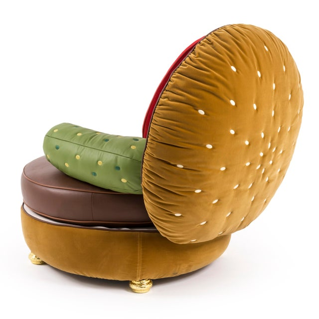Not Yet Made - Made To Order Seletti, Burger Chair, Studio Job, 2016 For Sale - Image 5 of 9