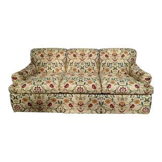Portuguese Tapestry Upholstered Willis Sofa