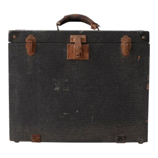 Vintage Marsh Wall Products Wood Case For Sale