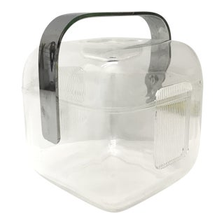 Guzzini Lucite Ice Bucket For Sale