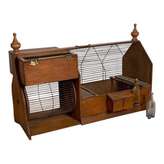 Squirrel Cage, American Circa 19th Century For Sale