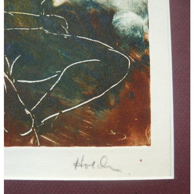 """Dreaming of Pleasure"" Monotype - Image 2 of 3"