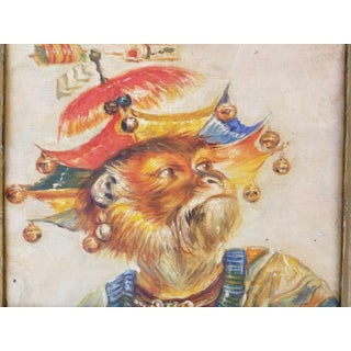 Whimsical Chinoiseri Monkey Painting Preview