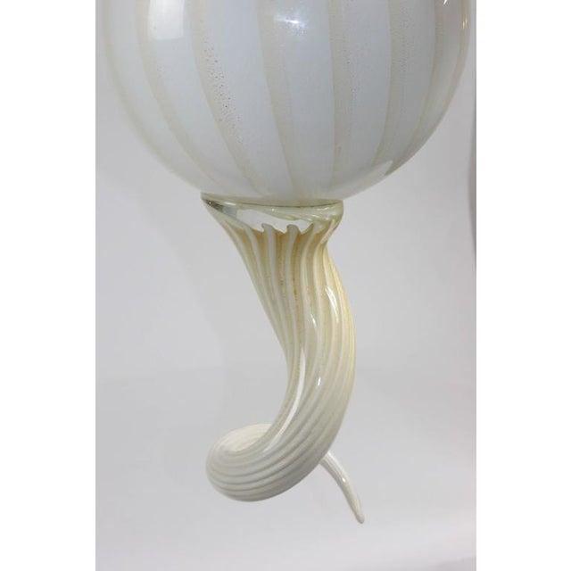 Mid-Century Modern Murano Lighting Chandelier - Image 5 of 6