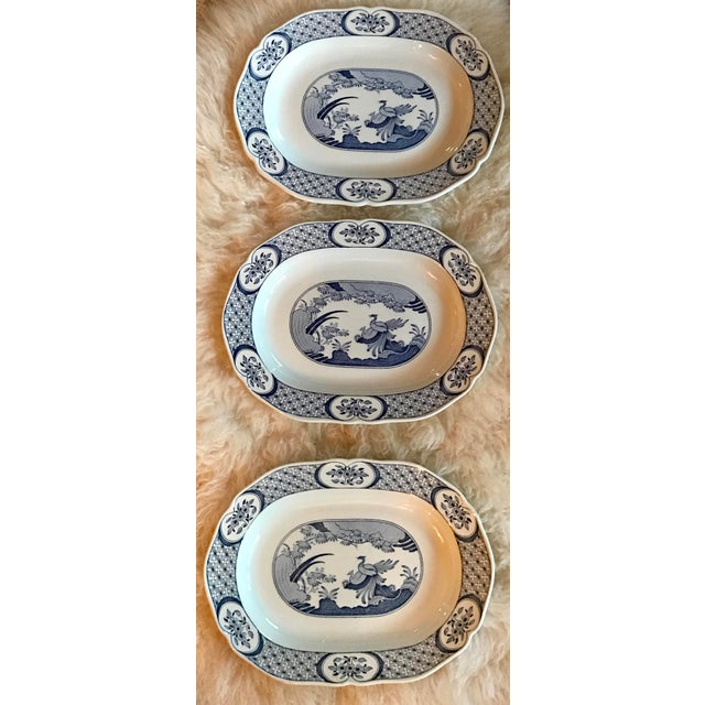 Chinoiserie Old Chelsea Platters - Set of 3 - Image 8 of 8