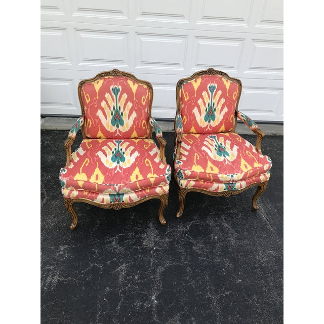 1980s Traditional French Baker Chairs - a Pair For Sale - Image 10 of 10
