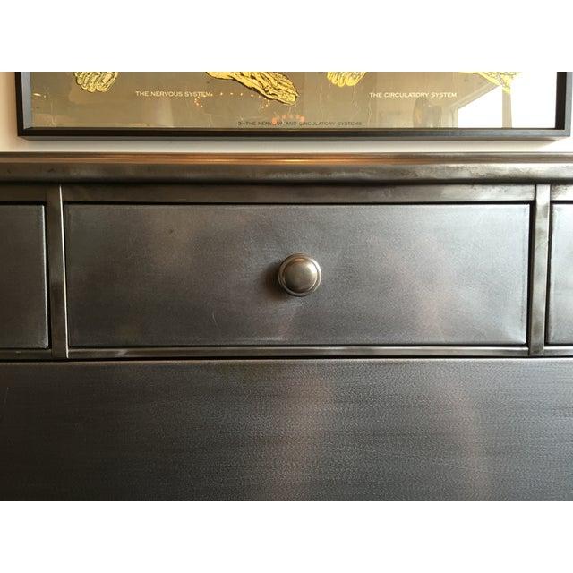 Stripped Metal Dresser - Image 7 of 7