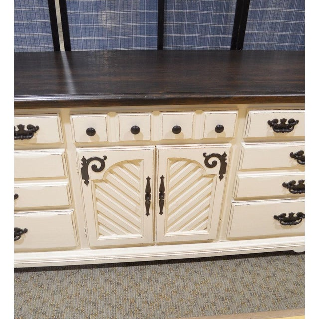 Thomasville Shabby Cottage Chic Dresser - Image 2 of 11