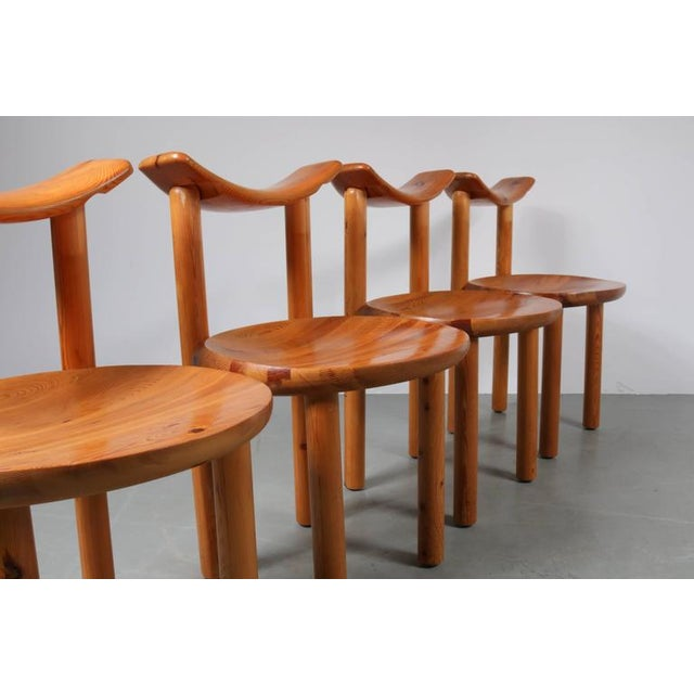 Set of Four Dining Chairs by Rainer Daumiller for Hirtshals Sawmill, Denmark - Image 7 of 8