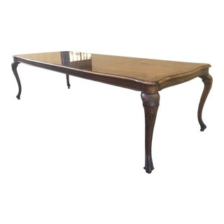 "Georgian Style Dining Table 106"" For Sale"