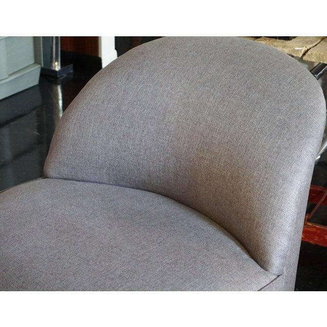 Mid-Century Modern J. Robert Scott Swivel Chairs - Pair For Sale - Image 3 of 5