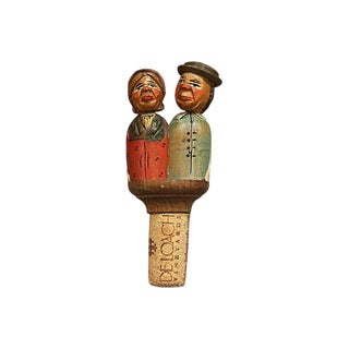 Black Forest Animated Wine Stopper For Sale