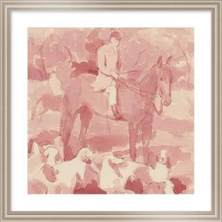 "Medium ""Tally Ho"" Print by Michelle Farro, 26"" X 26"" For Sale"