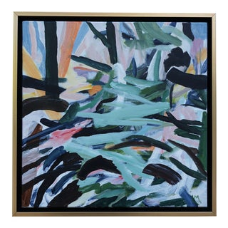 "Laurie MacMillan ""Forest Floor"" Abstract Painting For Sale"