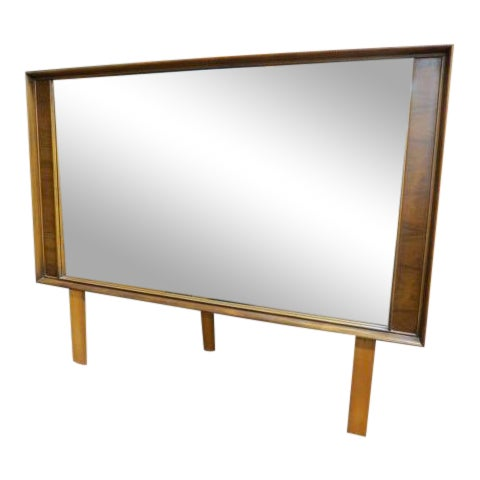 1960s Vintage Kent Coffey Perspecta Mid-Century Modern Mirror For Sale