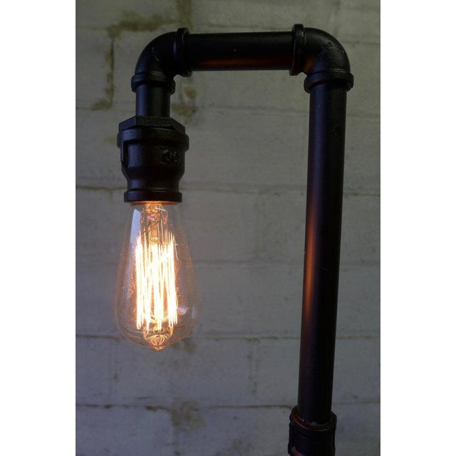 Industrial Pipe Table Lamp - Image 4 of 5