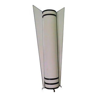 1980's Art Deco Floor Lamp For Sale