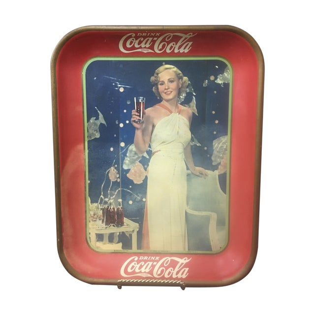 Vintage Coca Cola Tray 77