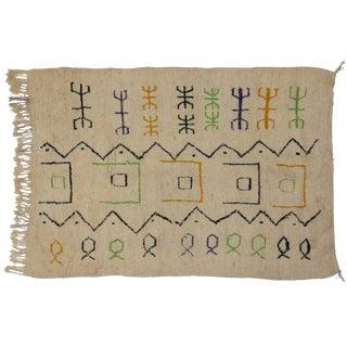 Berber Moroccan Azilal Rug, 6'5 x 8'9