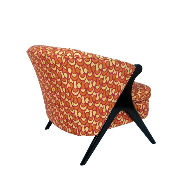 Mid-Century Modern Modern Karpen of California Style Club Chair For Sale - Image 3 of 7
